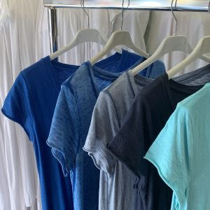 Robe américaine bleues